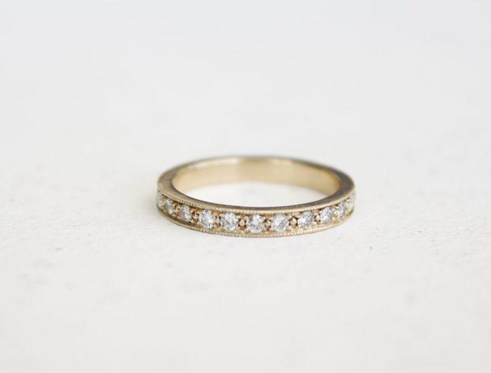 טבעת זהב ויהלומים מיוחדת