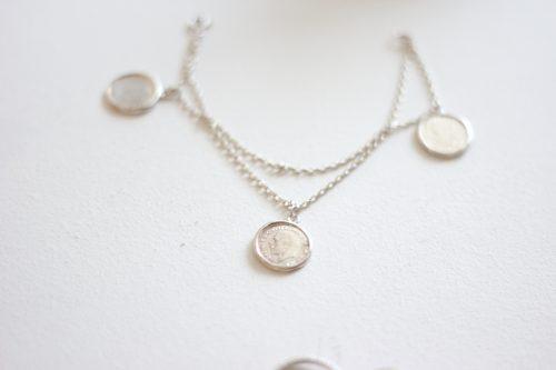 צמיד מטבעות