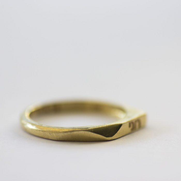 טבעת נישואין חריטה
