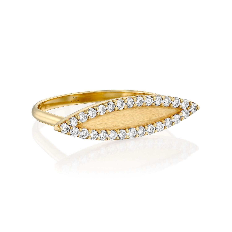 טבעת עין יהלומים